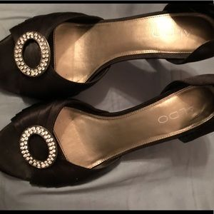 Aldo Black Heels 👠